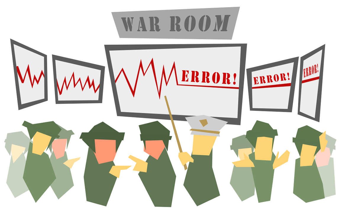 troubleshooting war room