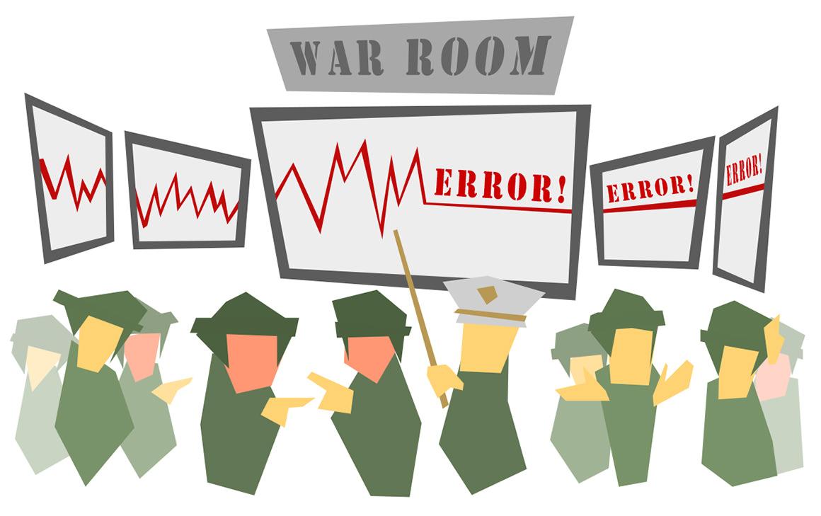 troubleshooting war room
